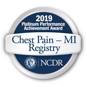 Chest Pain MI Registry Award - Platinum