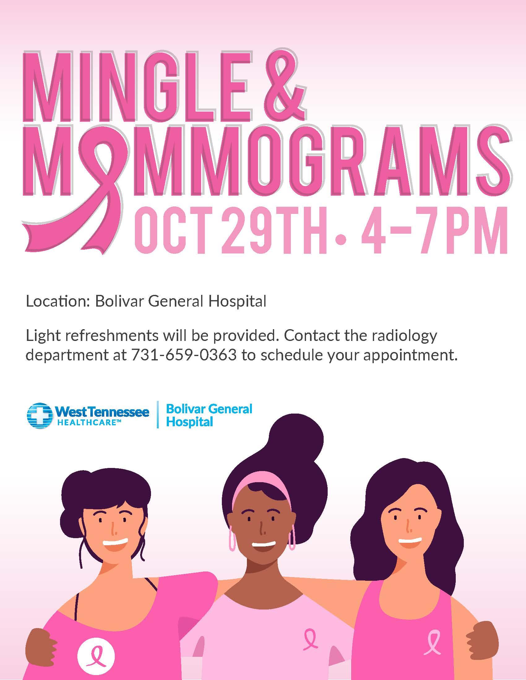Mingle & Mammograms